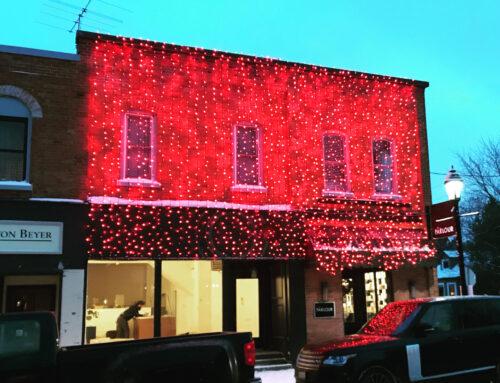 Thornbury Christmas Light Installations