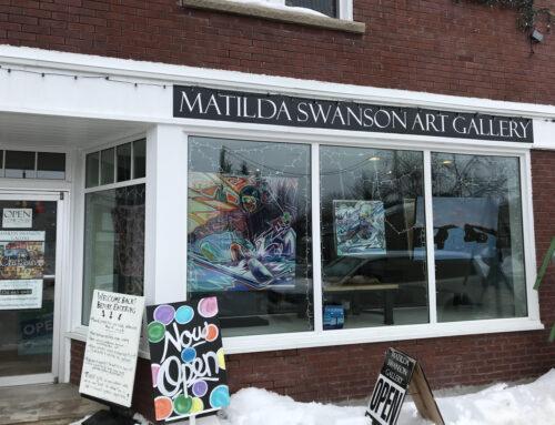 Thank you Matilda Swanson Art Gallery