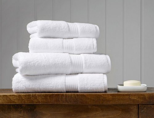 How to Wash Luxury Bath Linens