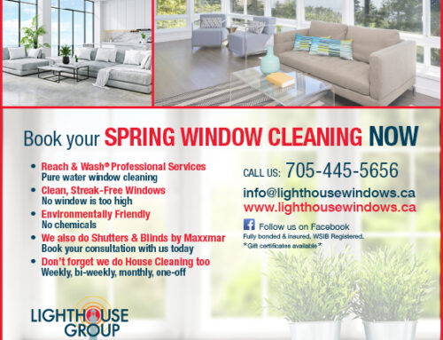 Time for Spring Window Cleaning