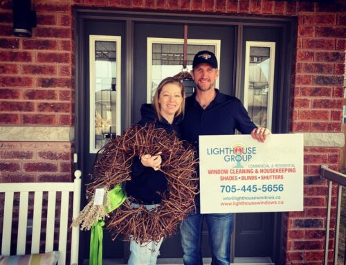 The Traveling Wreath stops at Lighthouse Group