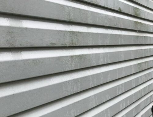 Cleaning the Siding on your home!
